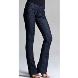 Express Stella Bootcut Darkwash Jeans